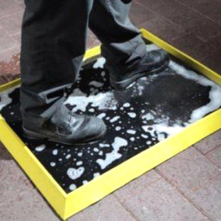 DEZO BARIJERA-Ulwel | SAFETY | Dezinfekcioni otirači | eu-otiraci |