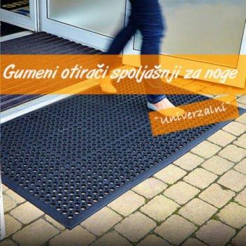 Gumeni Otirači-Univerzalni   Ulazni   za noge  Bezbednosni   klizanje