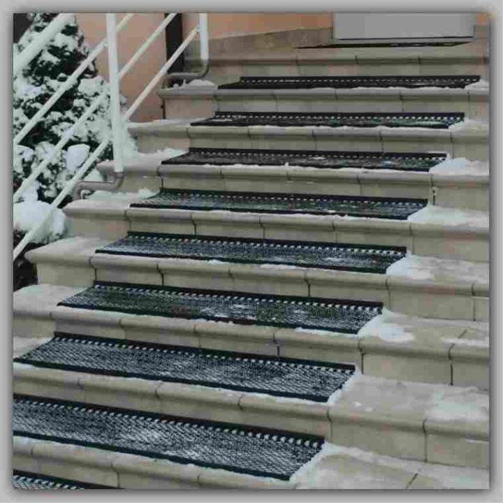 Arbecc -Protivklizni Otirači za stepenice , sa povećanom frekfencijom ljudi idealno za spojne stepenice, u vreme kada je valzno vreme,dobra zastita od snega