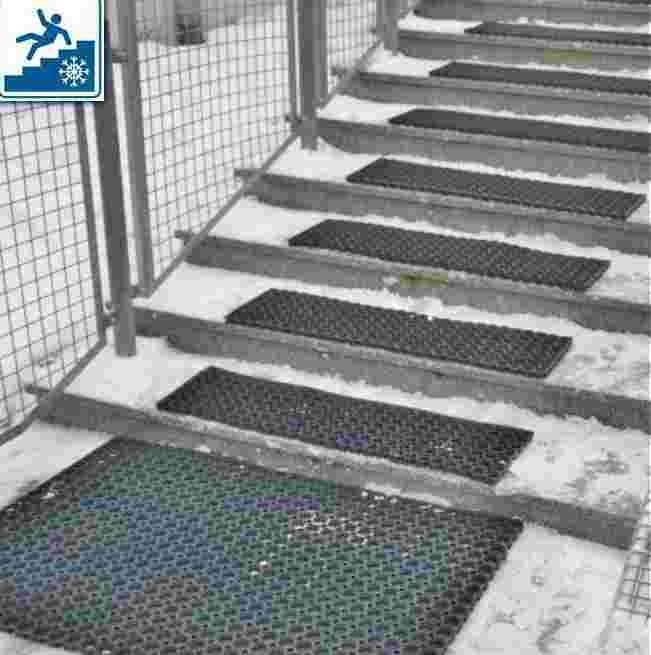 Antiklizne trake-Profi za stepenice Profesionalna zasto d proklizavanja Ant