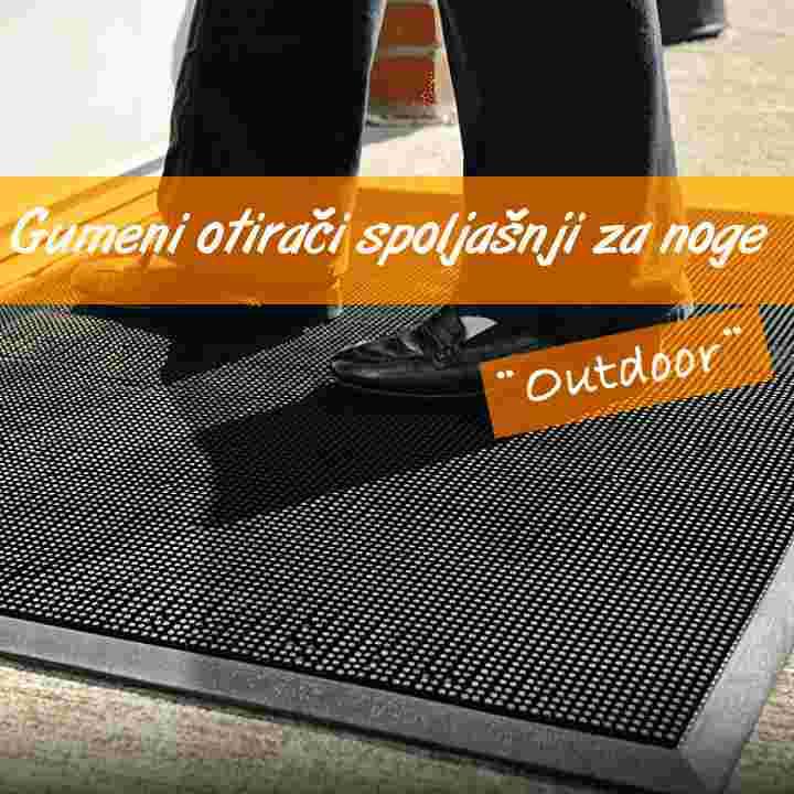 Otirači za noge-Outdoor EXTRA gumeni | ulazni |Safety | za vrata