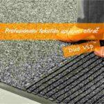 Duovip-Otirači ulazni | za noge | Podloga za stolicu | Dve zone čišćenja | WAN