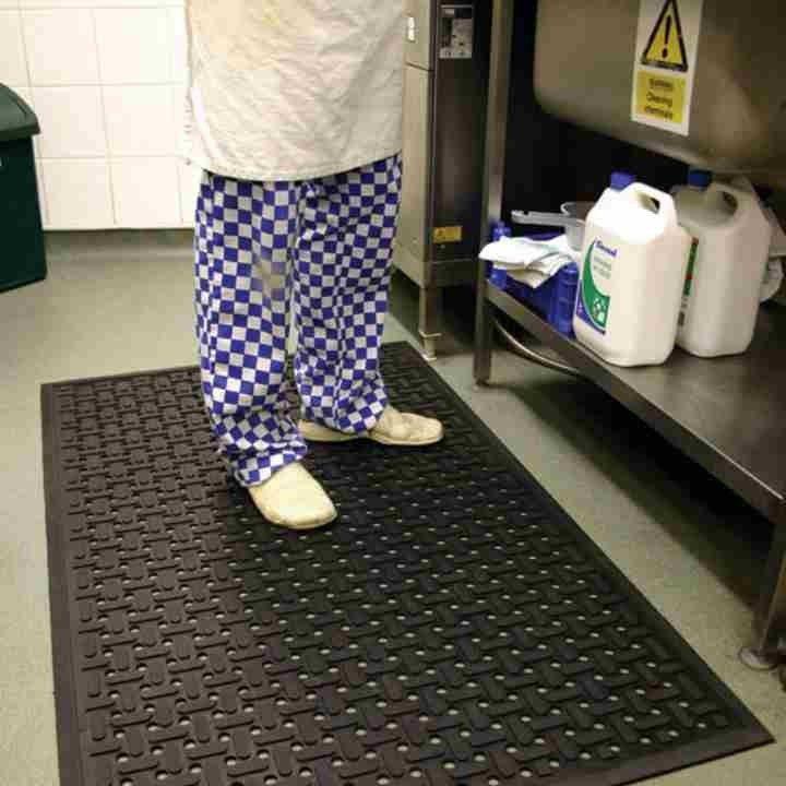 KX-Otirač za kuhinje restorane,Hotele:gumene podloge,Uljno,Antiklizni