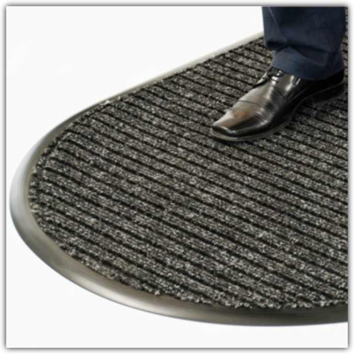 Ulazni otirači-Polukruzni Evropski Standard|Tekstilni | Anti-klizni | Gumeni otirači