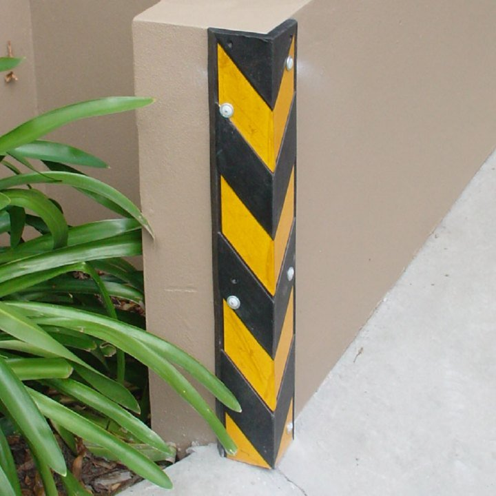 FLOR-Ugaoni Odbojnici za ivice zidova |Vrata | industrija |Gumeni odbojnici