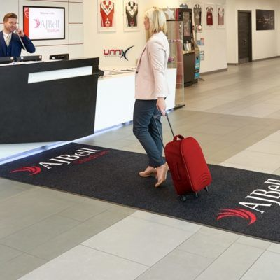 Logo otirači-Unnix Profesionalni_ulazni_gumeni otiraci_Hoteli_Restorani