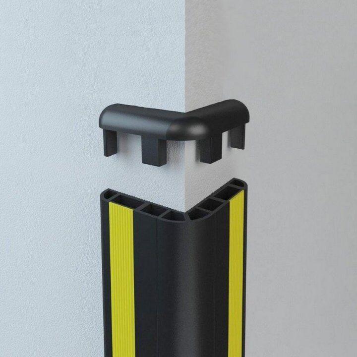 Zastitni ugaoni odbojnik- XXR za ivice zidova|garaze |stovarista| magacini