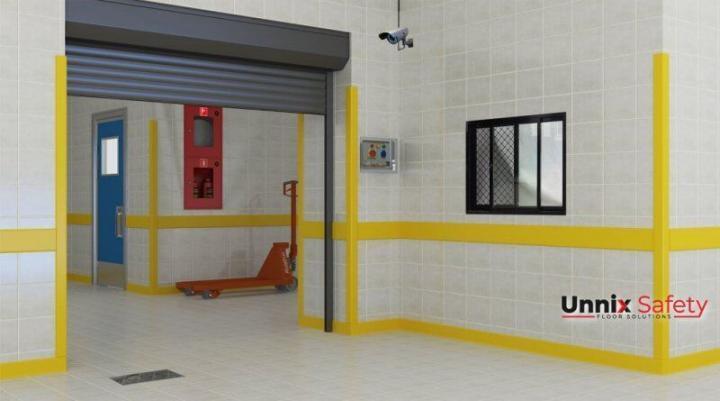 Zidna ugaona zasštira-Unnix ivice zidova |higijenski odbojnik | prljanja